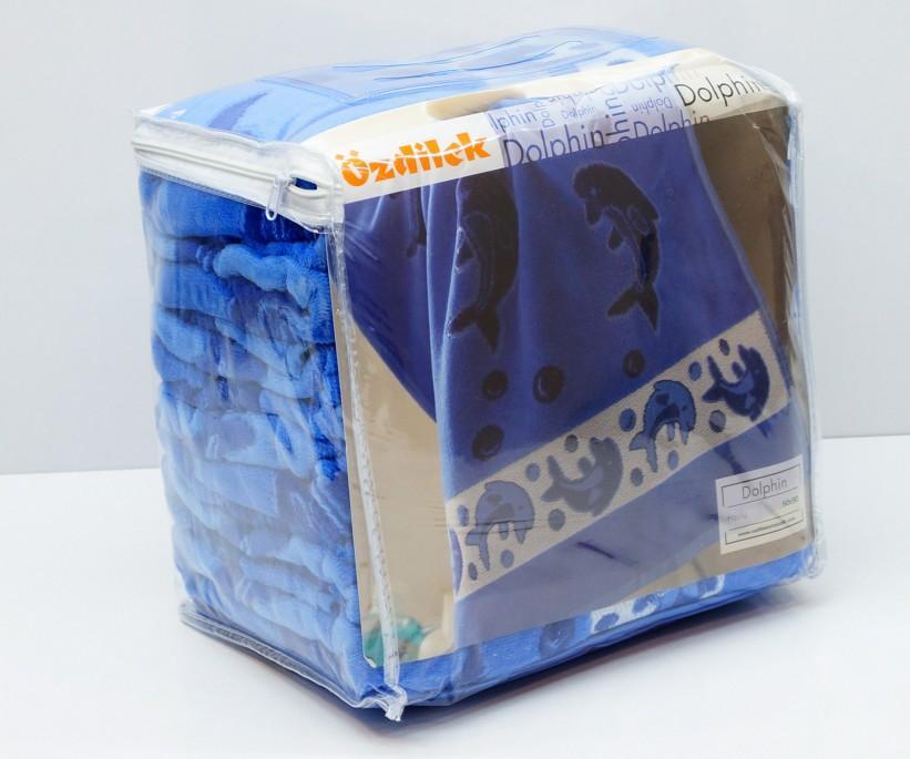 Велюровые Банные Полотенца 70x140 см. 6 шт/уп. DOLHIN Ozdilek