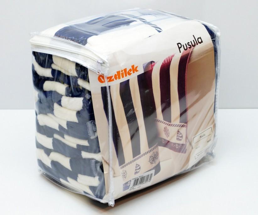 Велюровые Банные Полотенца 70x140 см. 6 шт/уп. Pusula Ozdilek