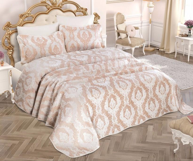 Жаккардовое Покрывало 240x260 см с 2-мя Наволочками 60x80 см Exclusive - My Bed
