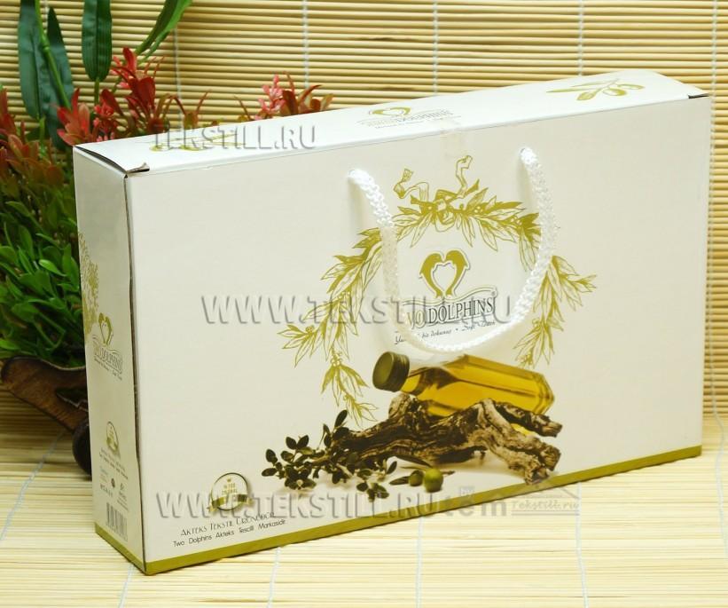 Махровые Полотенца 30x50 см. 6 шт./уп. Olive TWO DOLPHINS